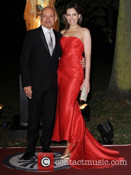 Ben Kingsley and Daniela Lavender Raisa Gorbachev Foundation...