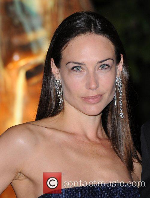 Claire Forlani and Hampton Court Palace