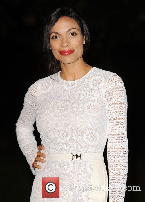 Rosario Dawson, Dougray Scott and Hampton Court Palace 10
