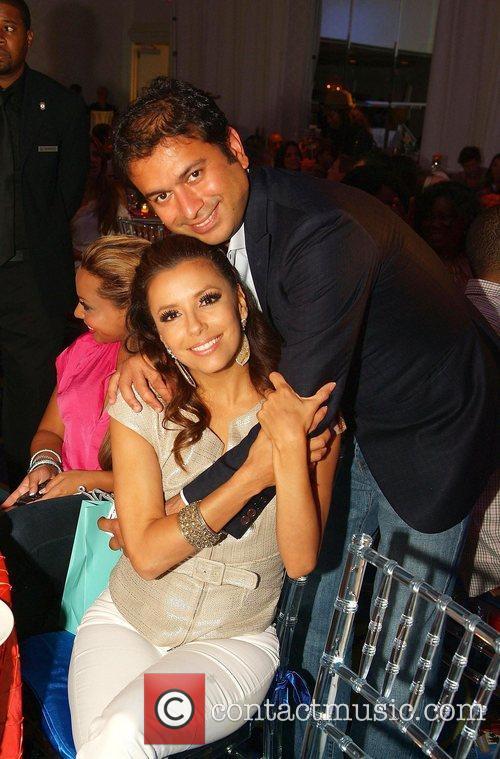 Kamal Hotchandani and Eva Longoria The Rally for...