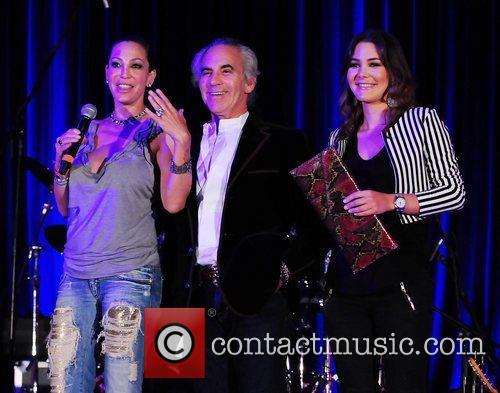 Lisa Pliner, Donald Pliner and Adriana Castro The...