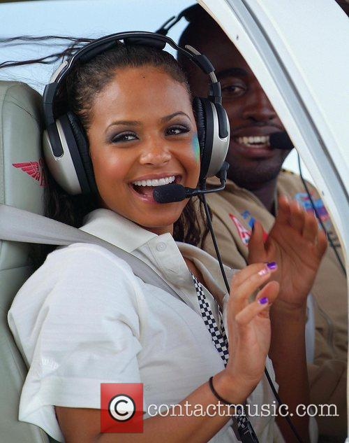 Christina Milian participates in Rally for Kids with...