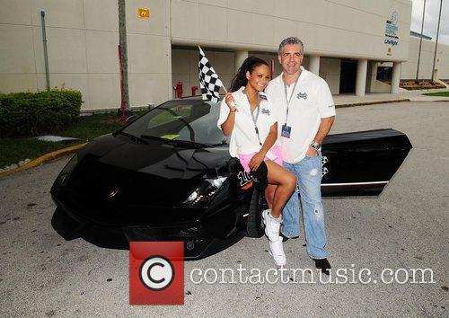 Christina Milian and David Siguaw  participate in...