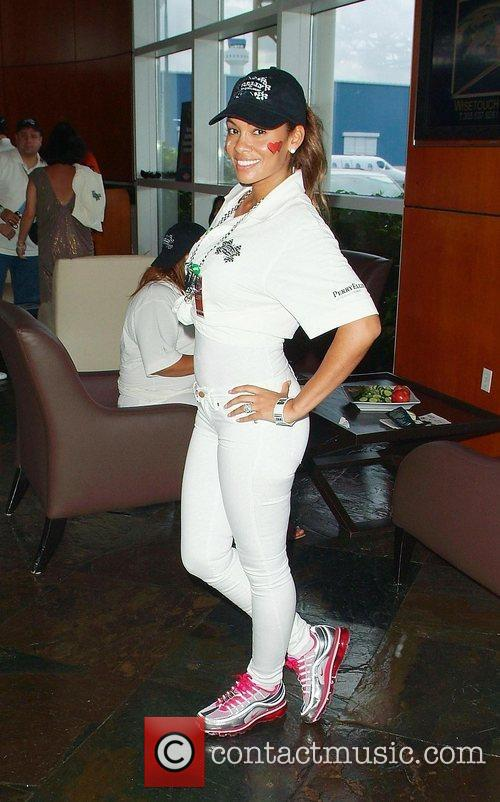 Evelyn Lozada  participates in Rally for Kids...