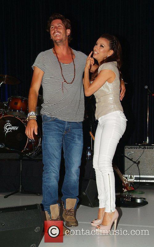 Eva Longoria and Nic Roldan Rally for Kids...