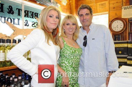 Gina Glickman, Ramona Singer and her husband Mario...