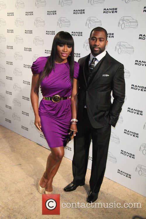 Serena Williams, Darrelle Revis,  at the NYC...