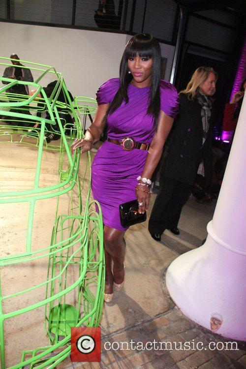 Serena Williams,  at the NYC launch of...