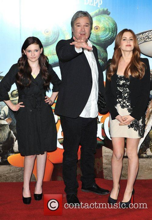 Isla Fisher, Abigail Breslin and Gore Verbinski 4