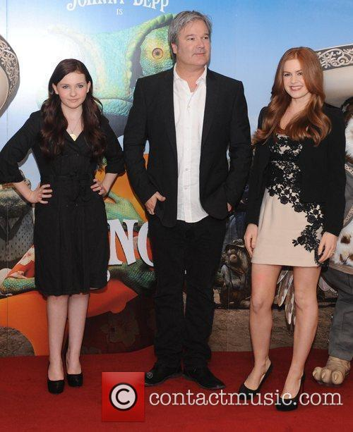 Isla Fisher, Abigail Breslin and Gore Verbinski 6
