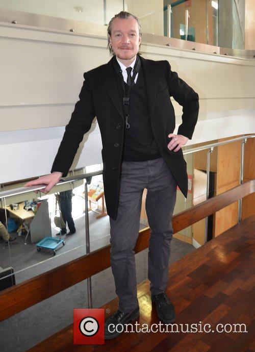 Felim Gormley Ray Darcy broadcasts his radio show...