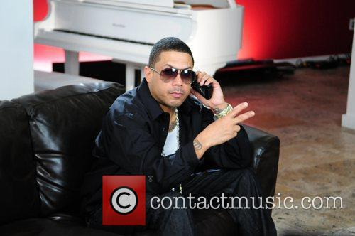 Benzino films his music video for 'Amazin' at...