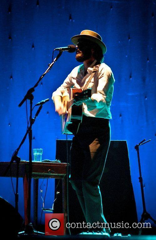 Ray LaMontagne performs at the Pavillion Theatre. Bournemouth,...