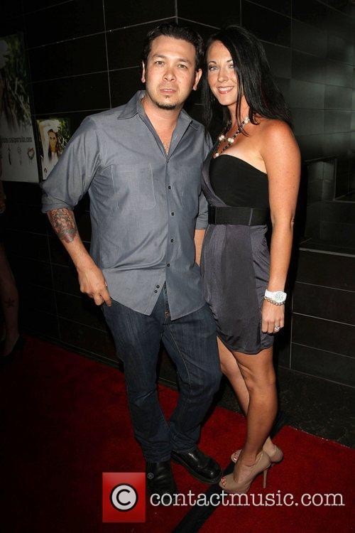 Brian Ronalds with wife Launch party for Casa...
