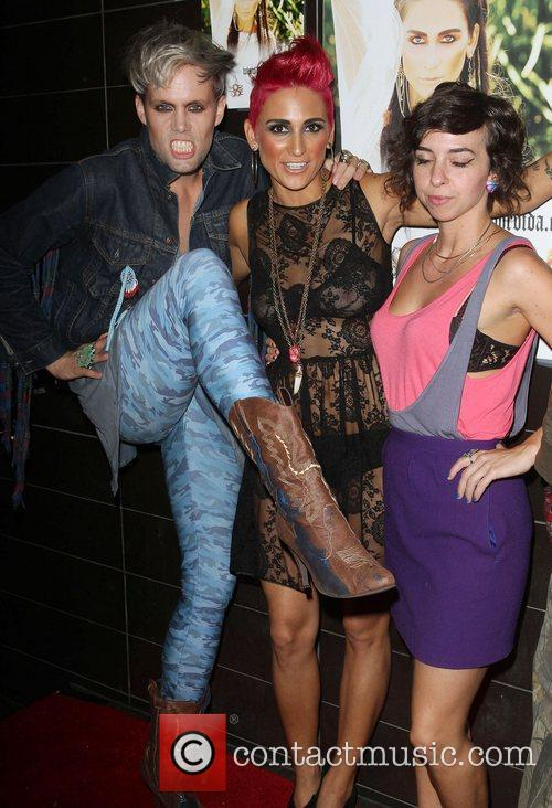 Romi Klinger and guests Launch party for Casa...