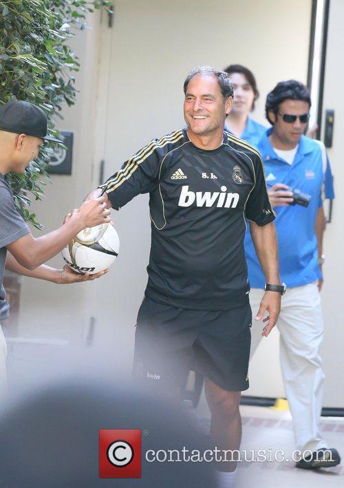 Silvino Louro Real Madrid players and coaching staff...