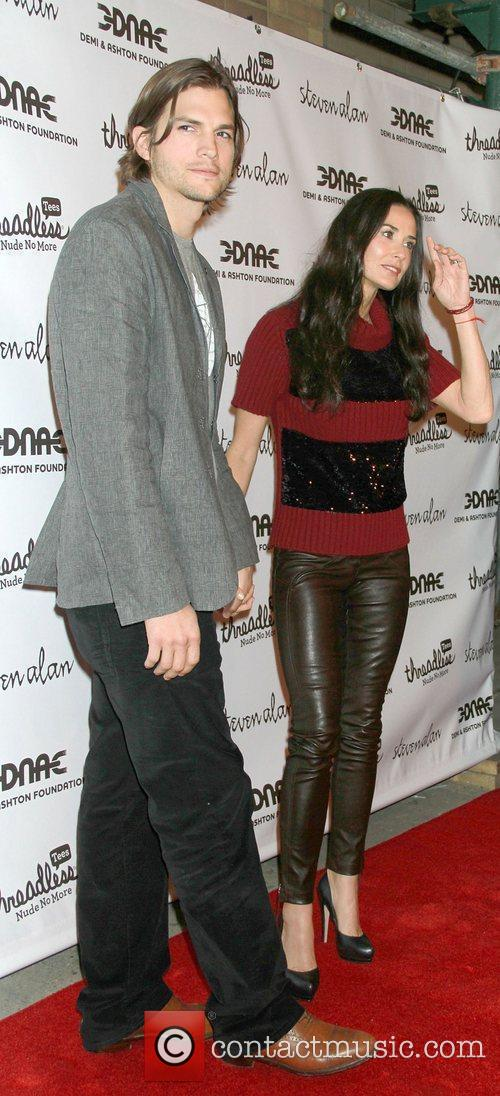 Ashton Kutcher and Demi Moore 2