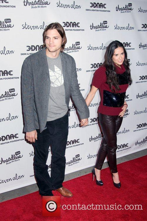 Ashton Kutcher and Demi Moore 10