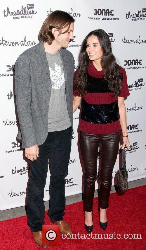 Ashton Kutcher and Demi Moore 8