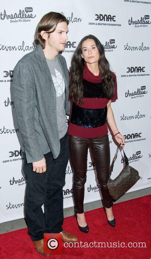 Ashton Kutcher and Demi Moore 7