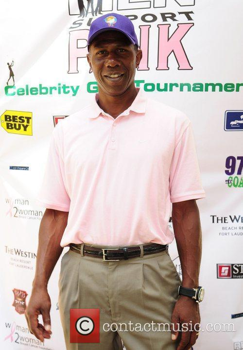 Tony Nathan Real Men Support Pink Golf Tournament...