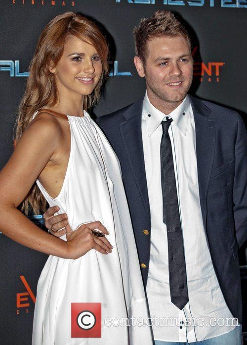 Brian McFadden and Vogue Williams The Australian premiere...
