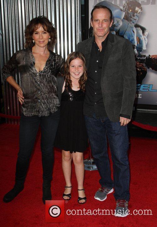 Jennifer Grey and Clark Gregg 5