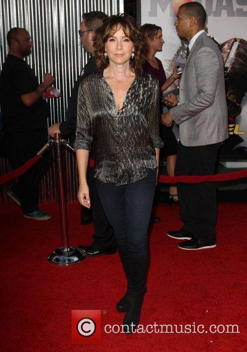 Jennifer Grey Real Steel Los Angeles Premiere Held...