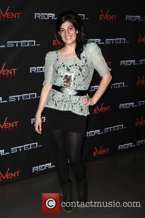 Carmela Contarino The Australian premiere of 'Real Steel'...