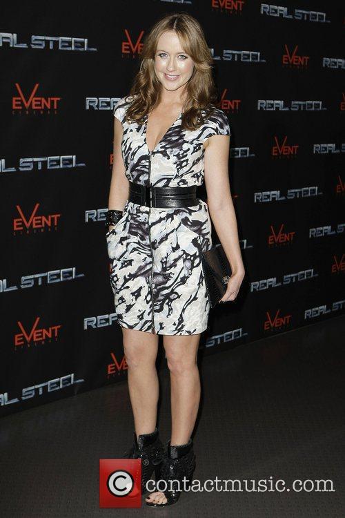 Lizzy Lovette The Australian premiere of 'Real Steel'...
