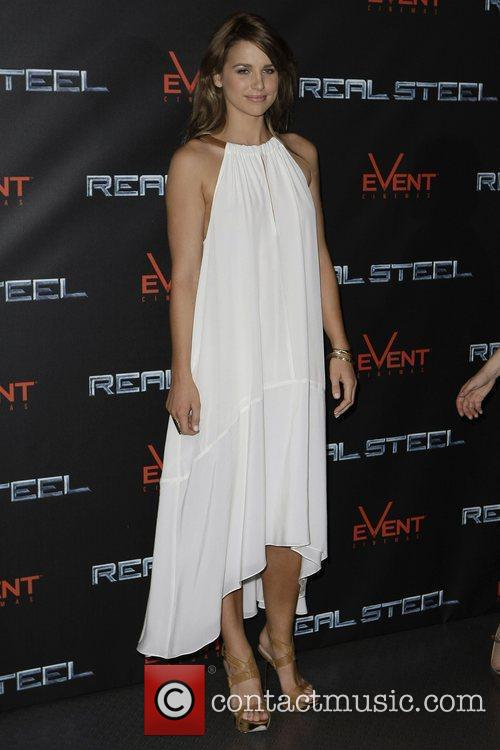 Vogue Williams The Australian premiere of 'Real Steel'...