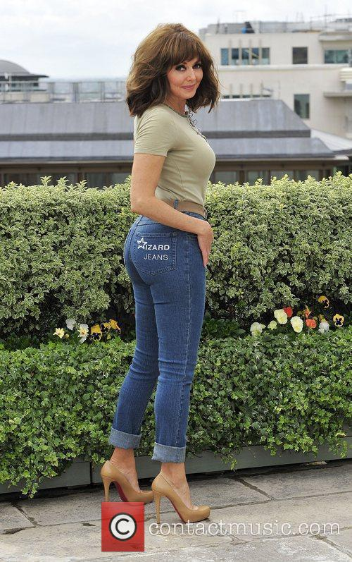 Carol Vorderman Winner of the Female Wizzard Jeans...