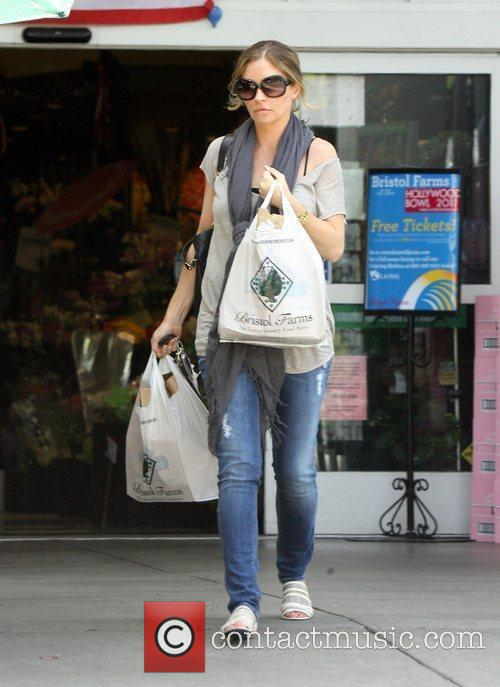 Rebecca Gayheart  shopping at Bristol Farms in...