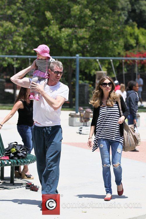 Rebecca Gayheart and Eric Dane 2