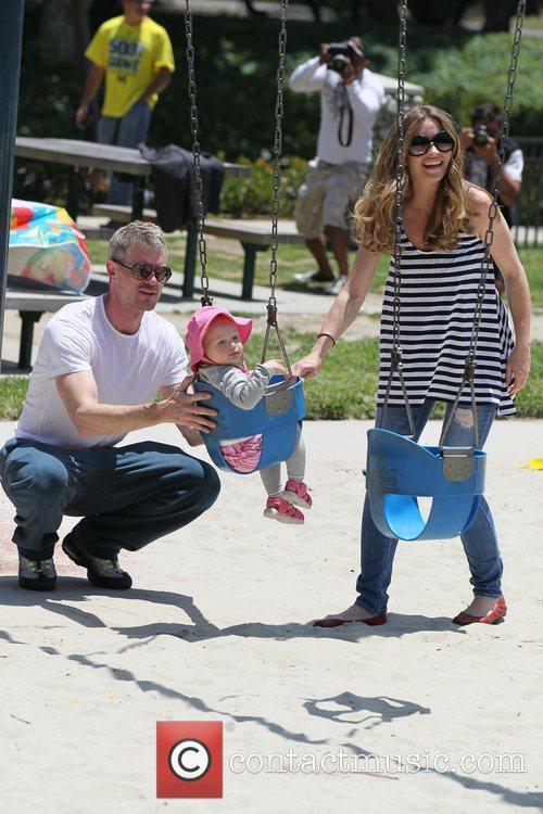 Rebecca Gayheart and Eric Dane 4