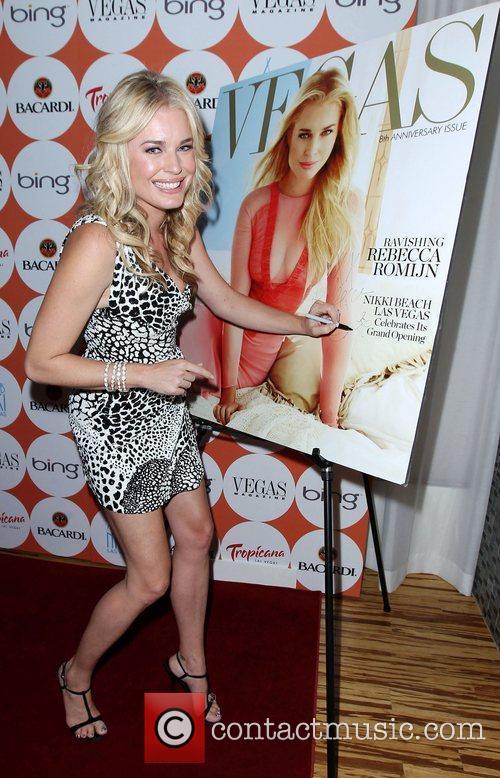 Rebecca Romijn  Vegas Magazine celebrates the 8th...