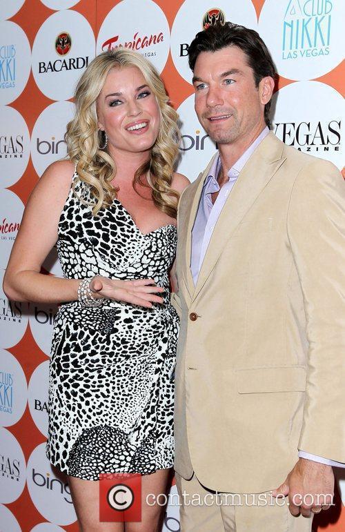 Rebecca Romijn and Jerry O'Connell Vegas Magazine celebrates...