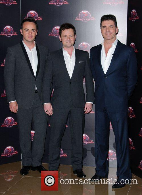 Ant McPartlin, Declan Donnely and Simon Cowell...