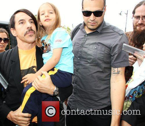 Anthony Kiedis and Red Hot Chili Peppers 5