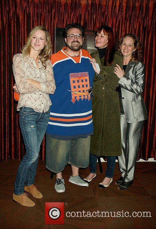 Kevin Smith and Melissa Leo 2