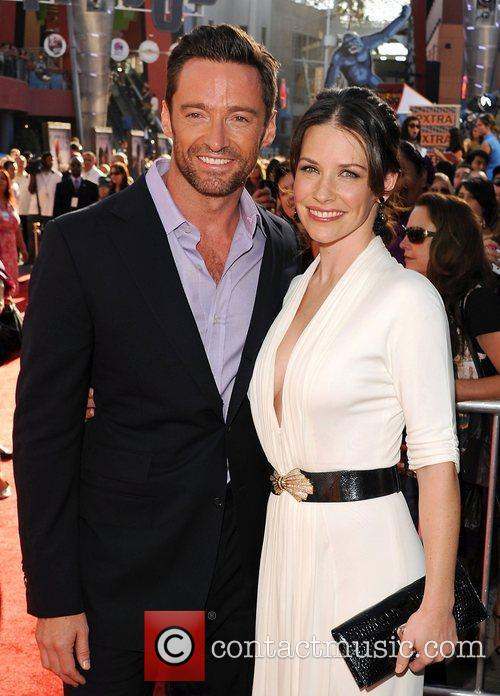 Hugh Jackman and Evangeline Lilly 8