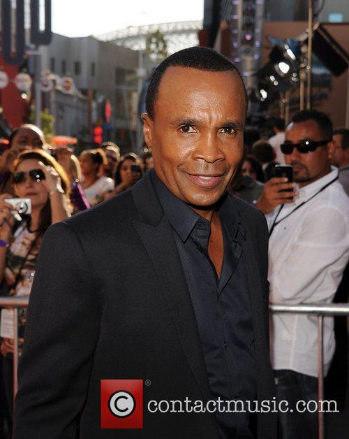 Sugar Ray Leonard and Evangeline Lilly 2