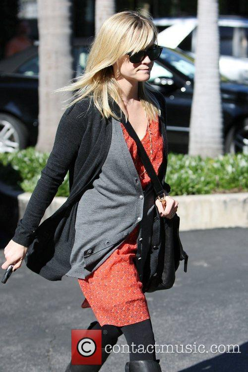 Reese Witherspoon out and about in Brentwood wearing...