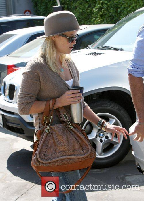 Reese Witherspoon  out and about in Santa...