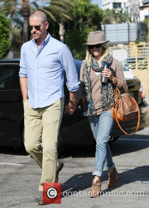 Reese Witherspoon and husband Jim Toth out and...