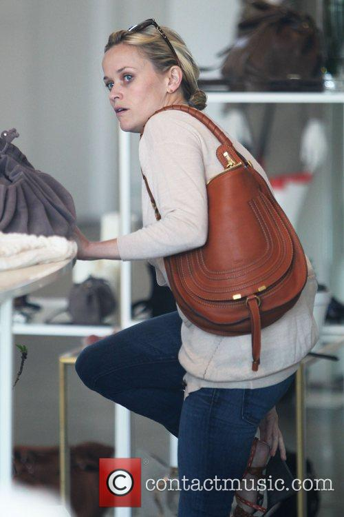 Reese Witherspoon does a spot of shopping at...