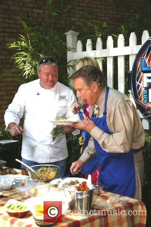 Chef Kenny Callaghan, Kelly Ripa, and Regis Philbin...