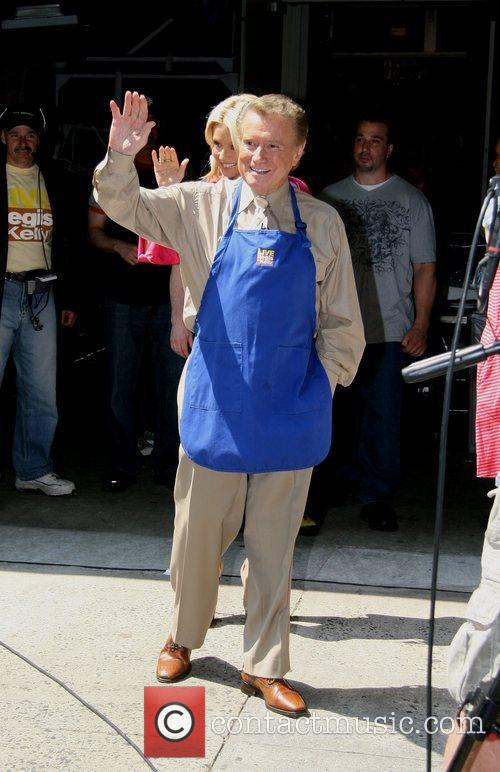 Cooking segment outside ABC studios' 'Live with Regis...