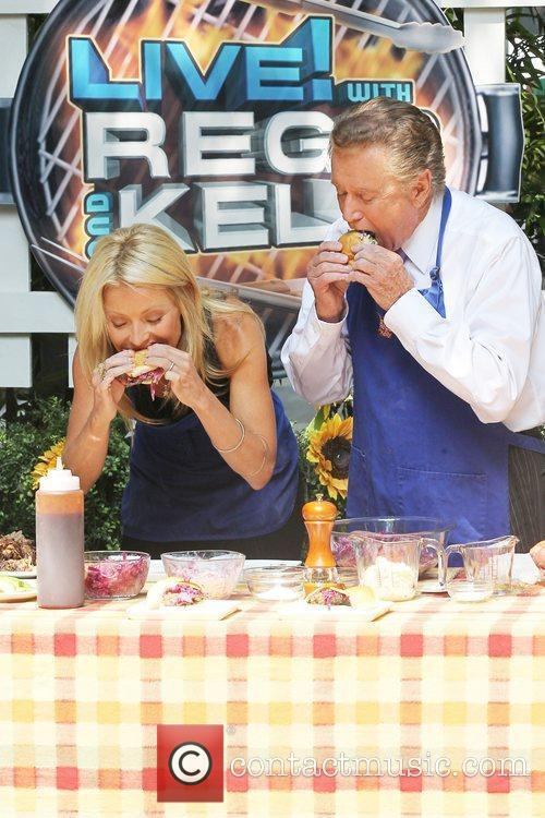 Kelly Ripa and Regis Philbin 7