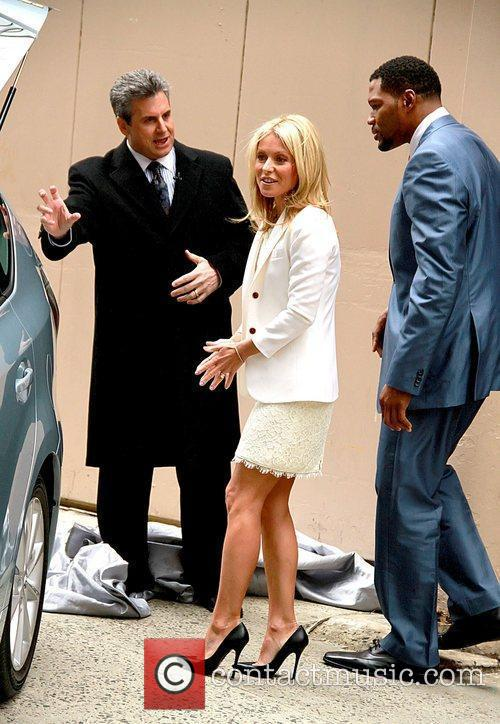 Alan Taylor, Kelly Ripa and Michael Strahan 2